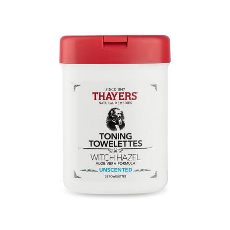 UNSCENTED TONING TOWELETTES