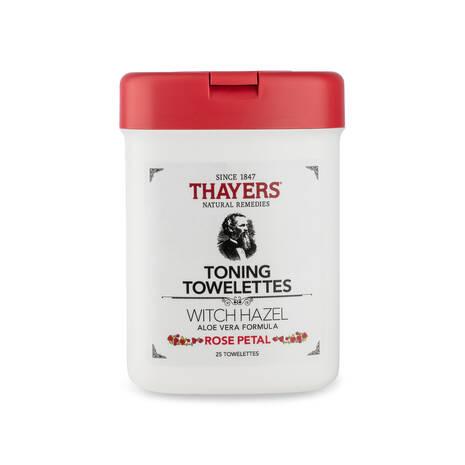 ROSE PETAL TONING TOWELETTES
